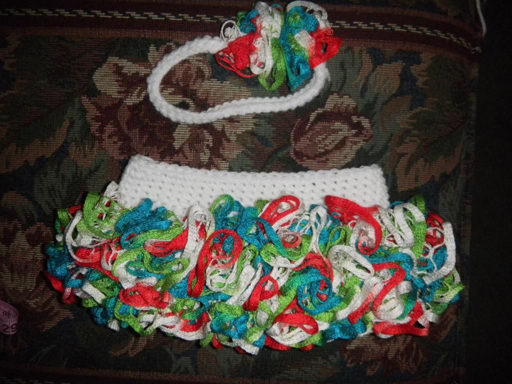 Ruffle Skirt and Headband Set