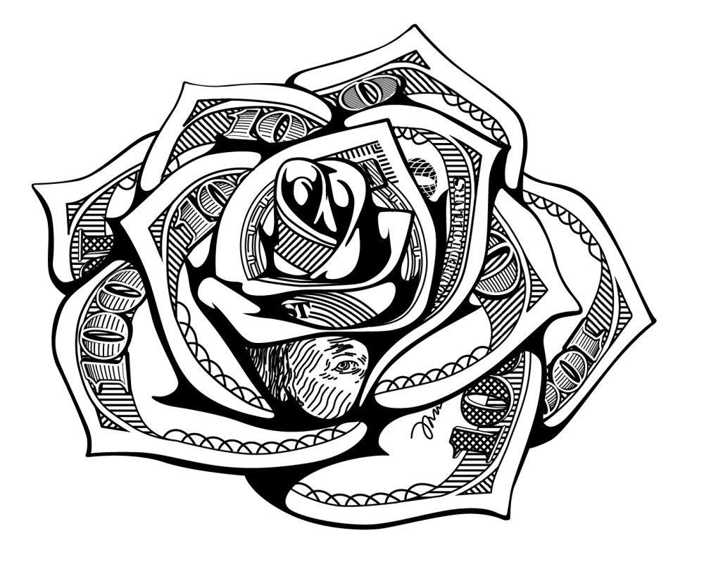 Money May Money Tattoo Card Tattoo Designs Rose Tattoo Stencil