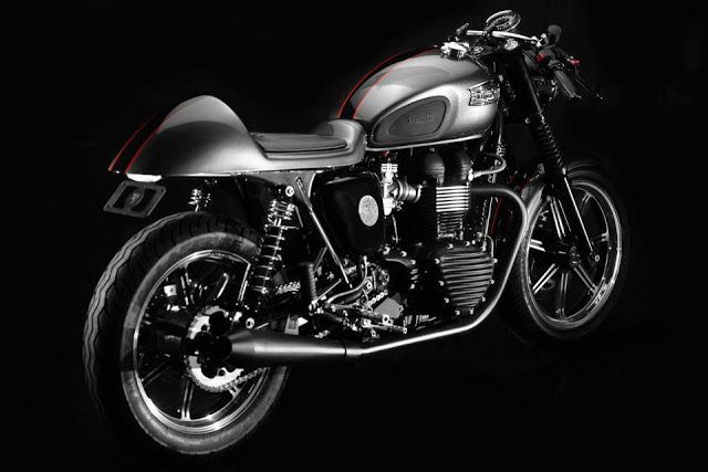 "Racing Cafè: Triumph Bonneville ""CR"" by Dime City Cycles"