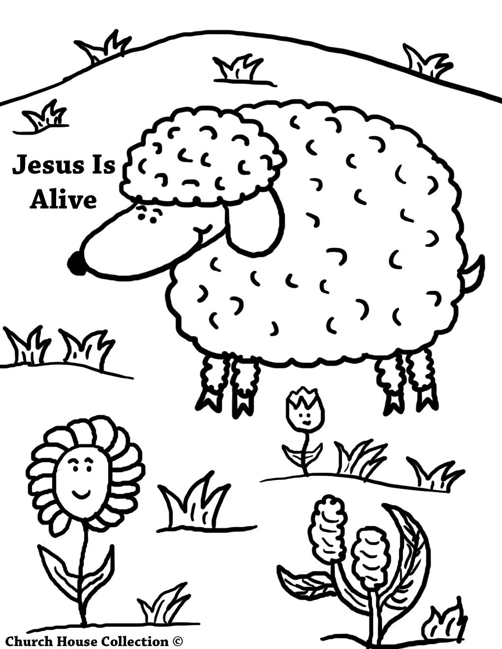 17++ Printable easter coloring pages for sunday school information