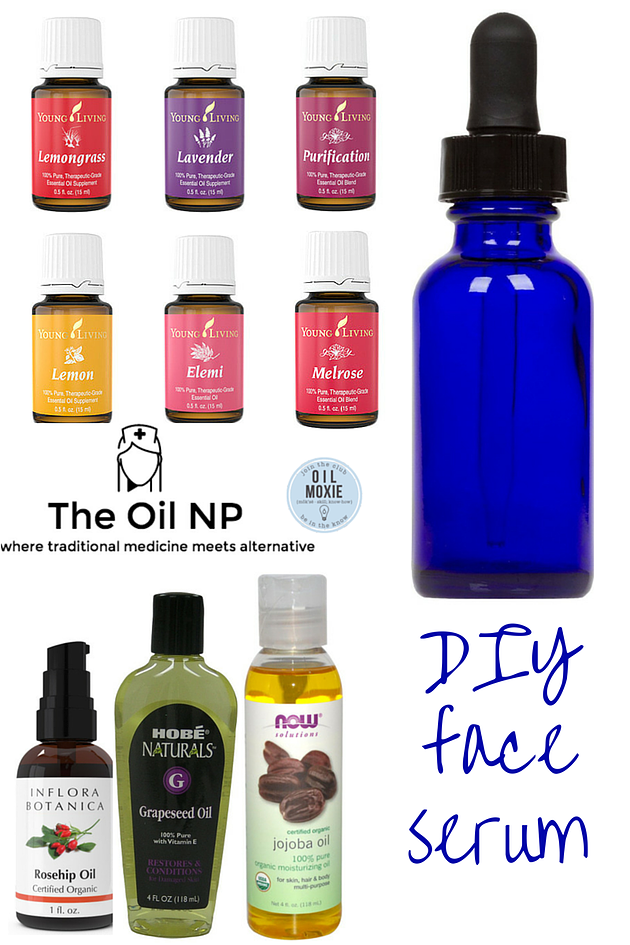 The Oil Nurse Practitioner DIY Face Serum Acne oil