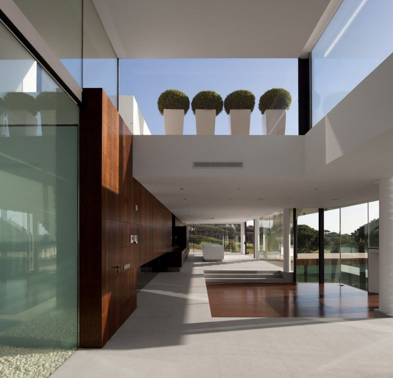 Casa Vale Do Lobo by Arqui+Arquitectura | HomeDSGN, a daily source for inspiration and fresh ideas on interior design and home decoration.