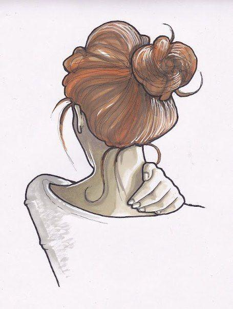 Нарисованные картинки карандашом легкие для девочек