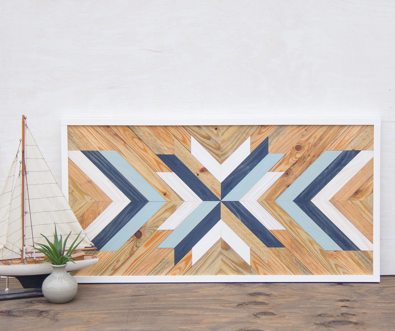 Geometric Wood Wall Art Wood Wall Art Rustic Wall Art Etsy In 2020 Custom Wall Art Wood Wall Art Diy Wood Wall Art