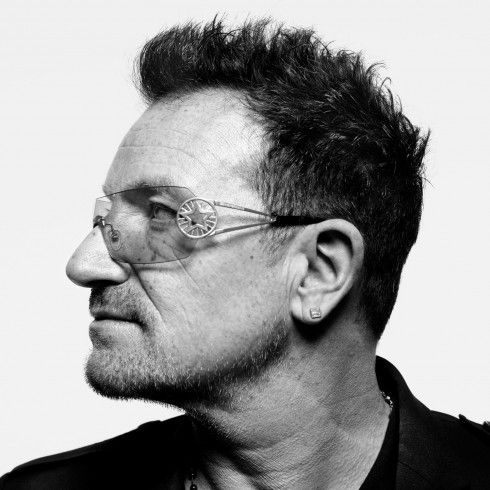 "Bono, musician and activist. From ""Q&A,"" Dec. 12, 2011, issue.    Read more: http://lightbox.time.com/2011/12/21/times-best-portraits-of-2011/#ixzz1lMAPH4w4"