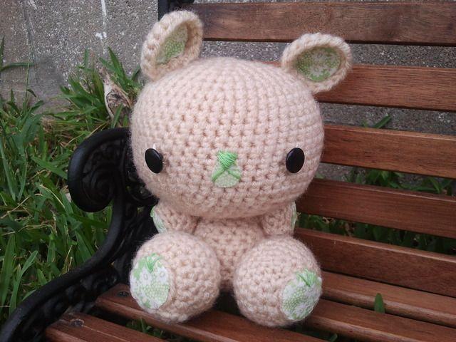 My Lil Teddy - Hand Crochet