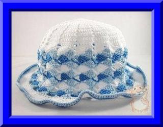 Mis Pasatiempos  Amo el Crochet: Capelina en dos tonos