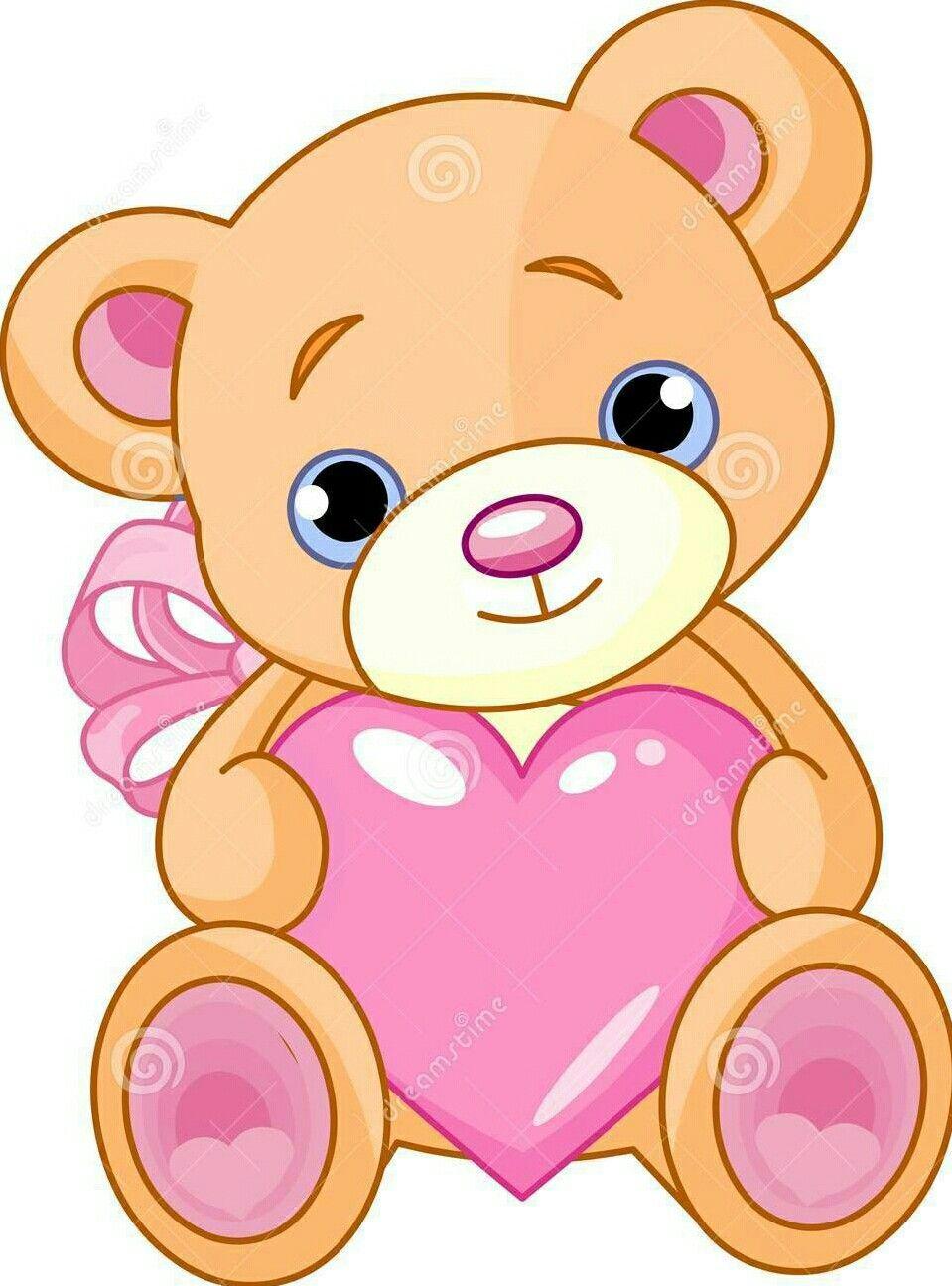 Pin By Tara Tamil On Cuore Heart Teddy Bear Drawing Bear Drawing Teddy Bear Drawing Easy