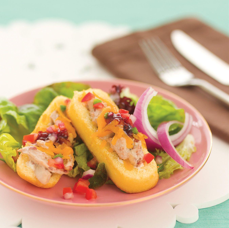 Chicken-Raspberry Twinkie Salad