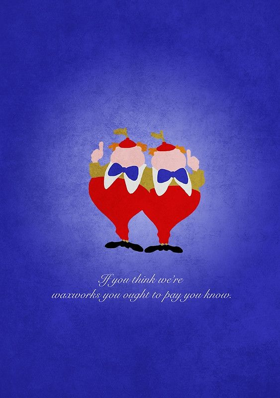 Alice in Wonderland inspired design (Tweedle Dum & Tweedle ...