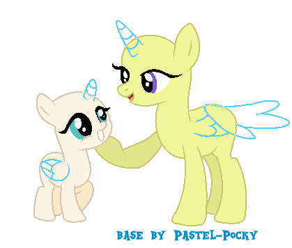 Mom And Filly Mlp Base By Pastel Pocky On Deviantart Mlp Bases In