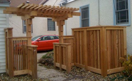 Garden gate Fencejpg 458283 Gates and Arbors Pinterest