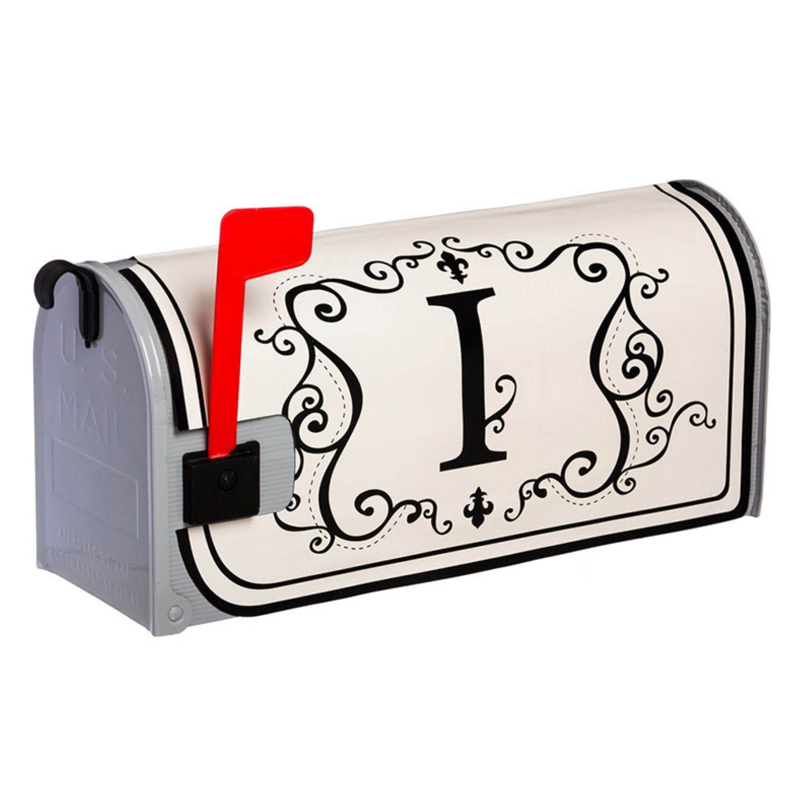 Evergreen Flag Monogram Magnetic Mailbox Cover Magnetic Mailbox