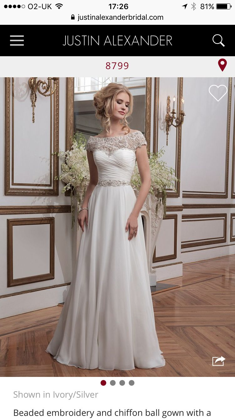 Simple in at the waist lace top wedding dress my wedding may