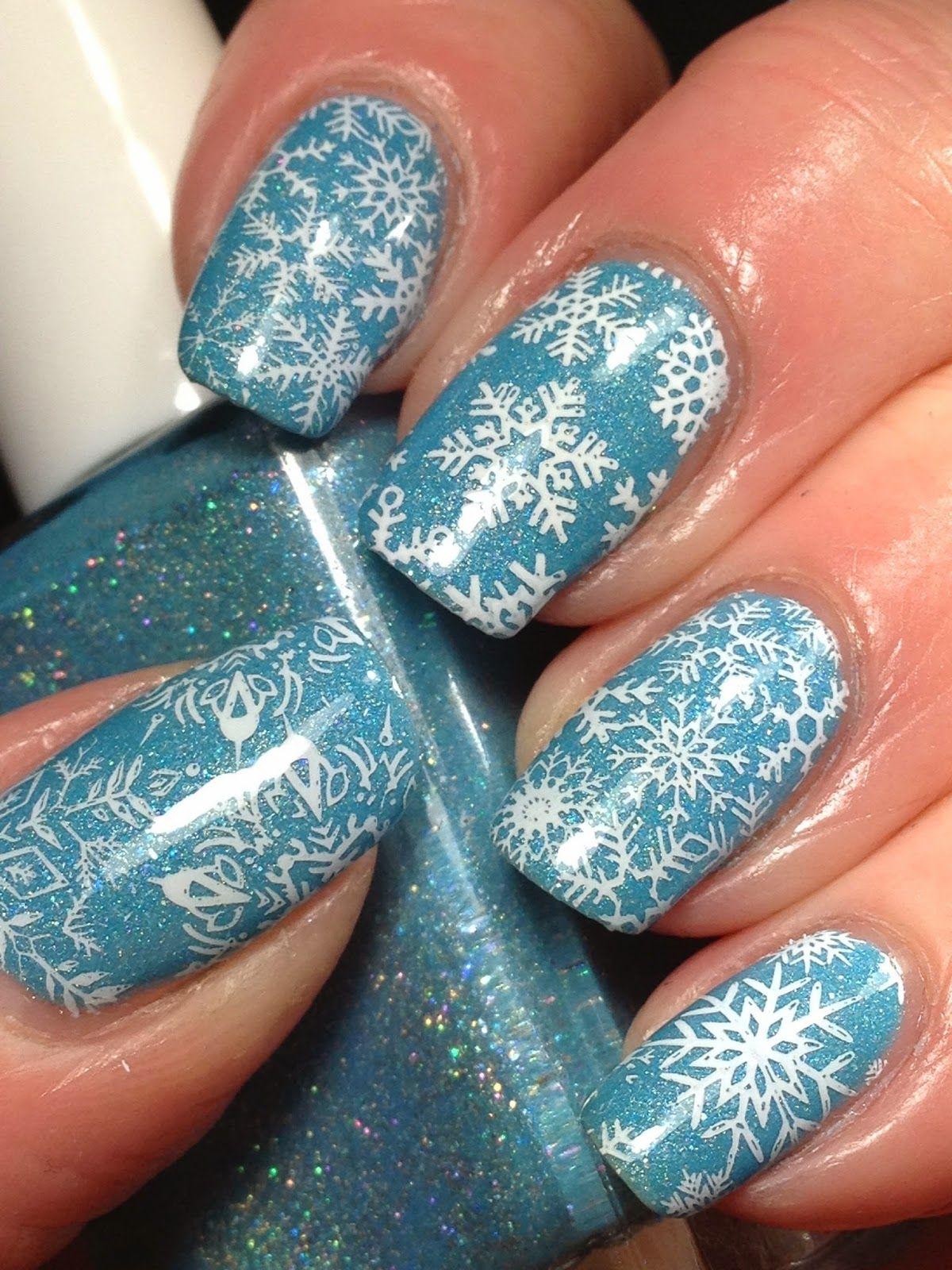 Glam Polish Break the Ice with Snowflakes