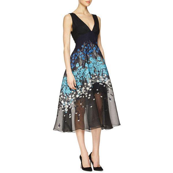 Lela Rose Sheath Midi Dress Cheap Price Low Shipping Fee zZK4nNx6NL