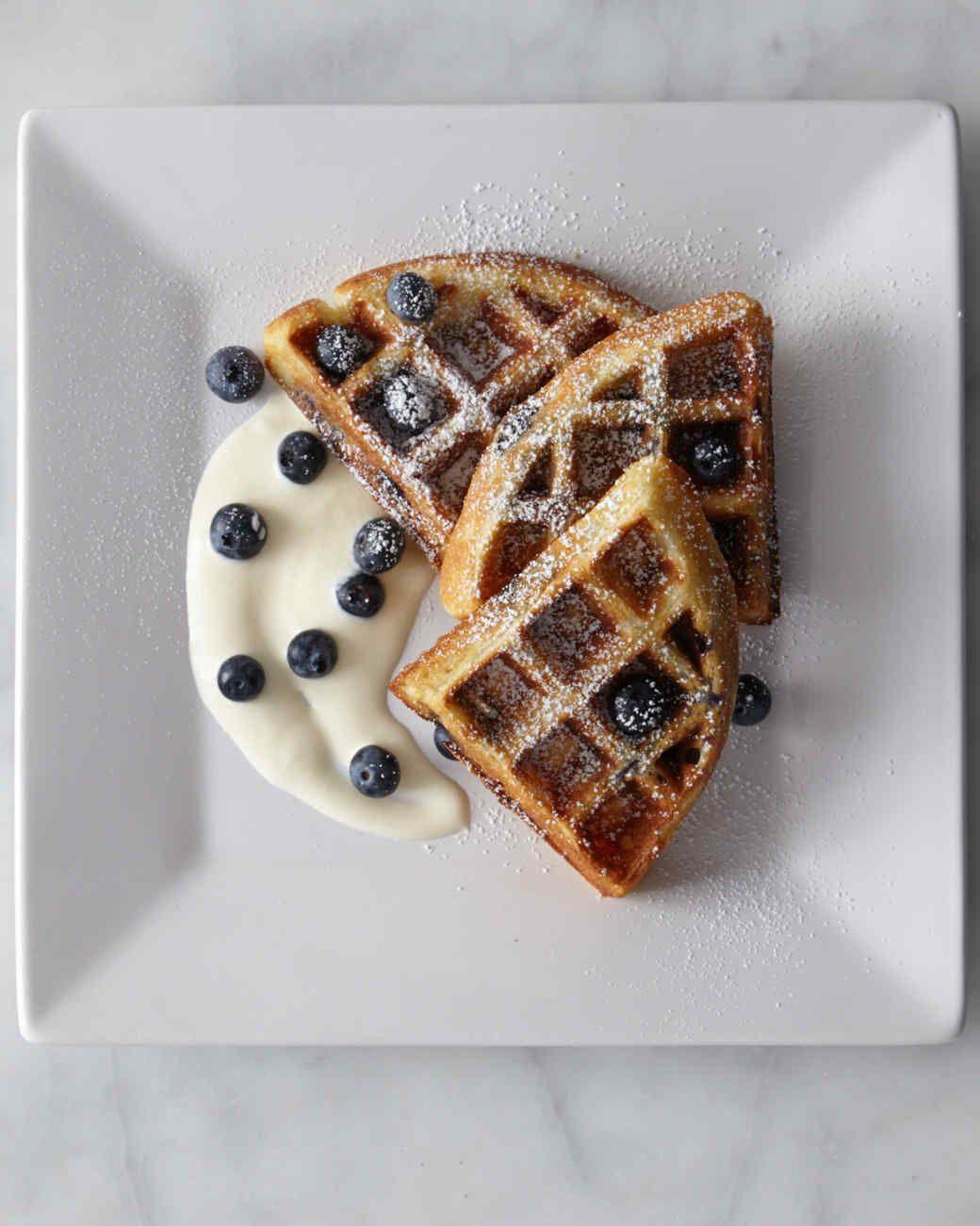 Blueberry Buttermilk Waffles Waffle Recipes Fun Baking Recipes Waffle Toppings