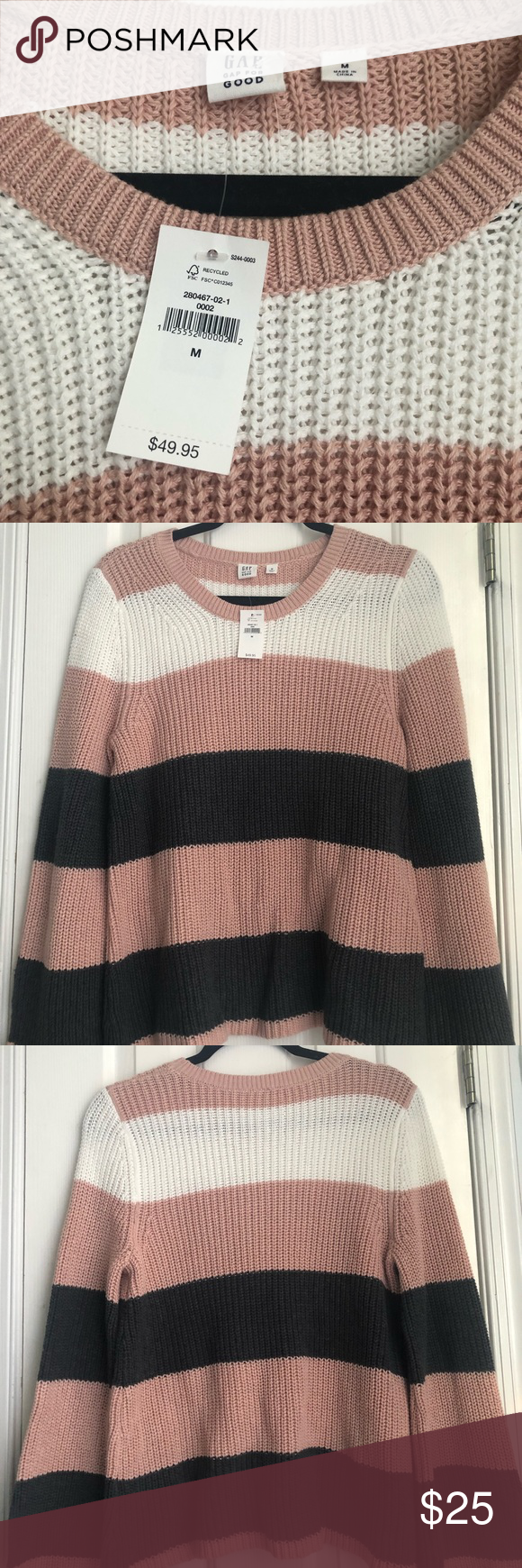52cbadded Gap sweater size medium NWT in 2019