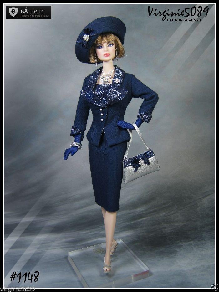 Tenue Outfit Accessoires Pour Barbie Silkstone Vintage Fashion Royalty 1148 | eBay