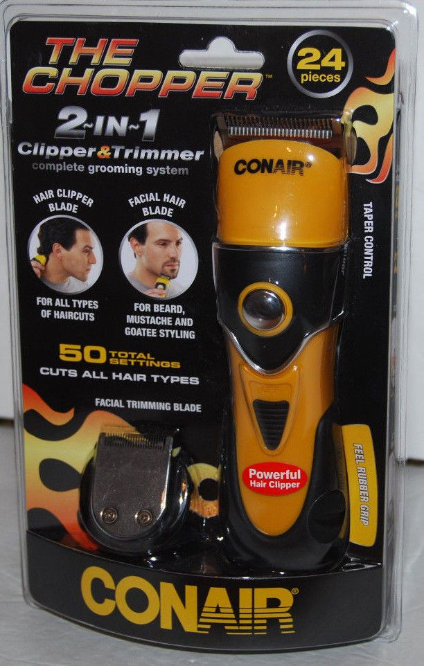 Conair chopper facial trimmer