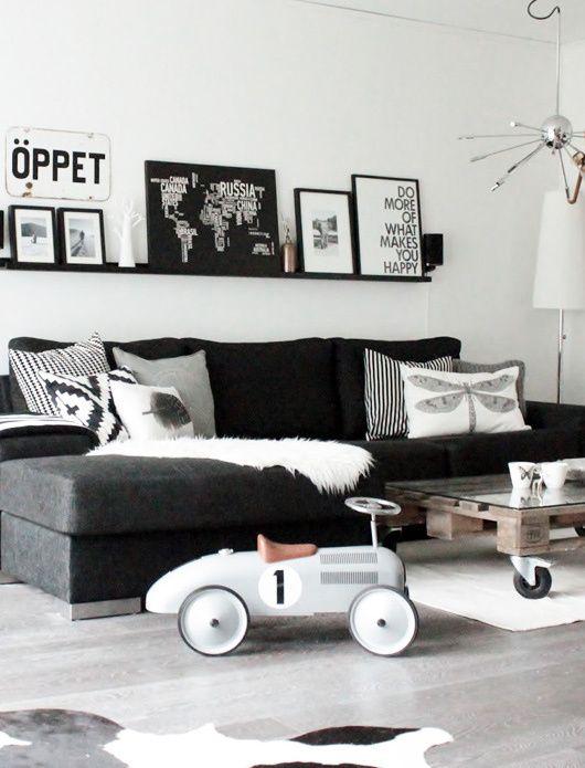 Norwegian Living Rooms H O M E Pinterest Long shelf, Living
