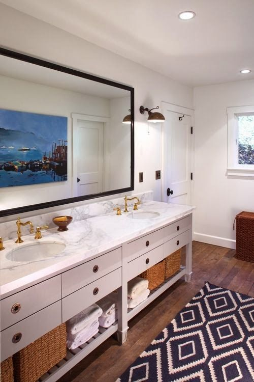White kitchens and baths are definitely the hottest trend I am seeing   right now.  It's also the subject I get asked about the most.  From ...