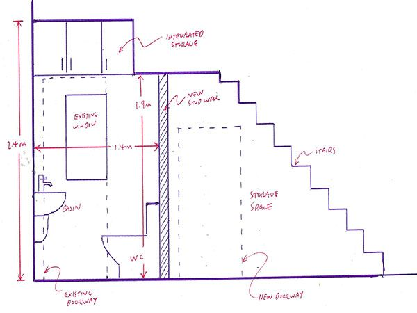 Planning A Downstairs Toilet Under The Stairs With