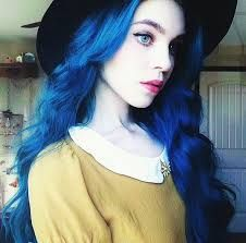 Image result for blue hair