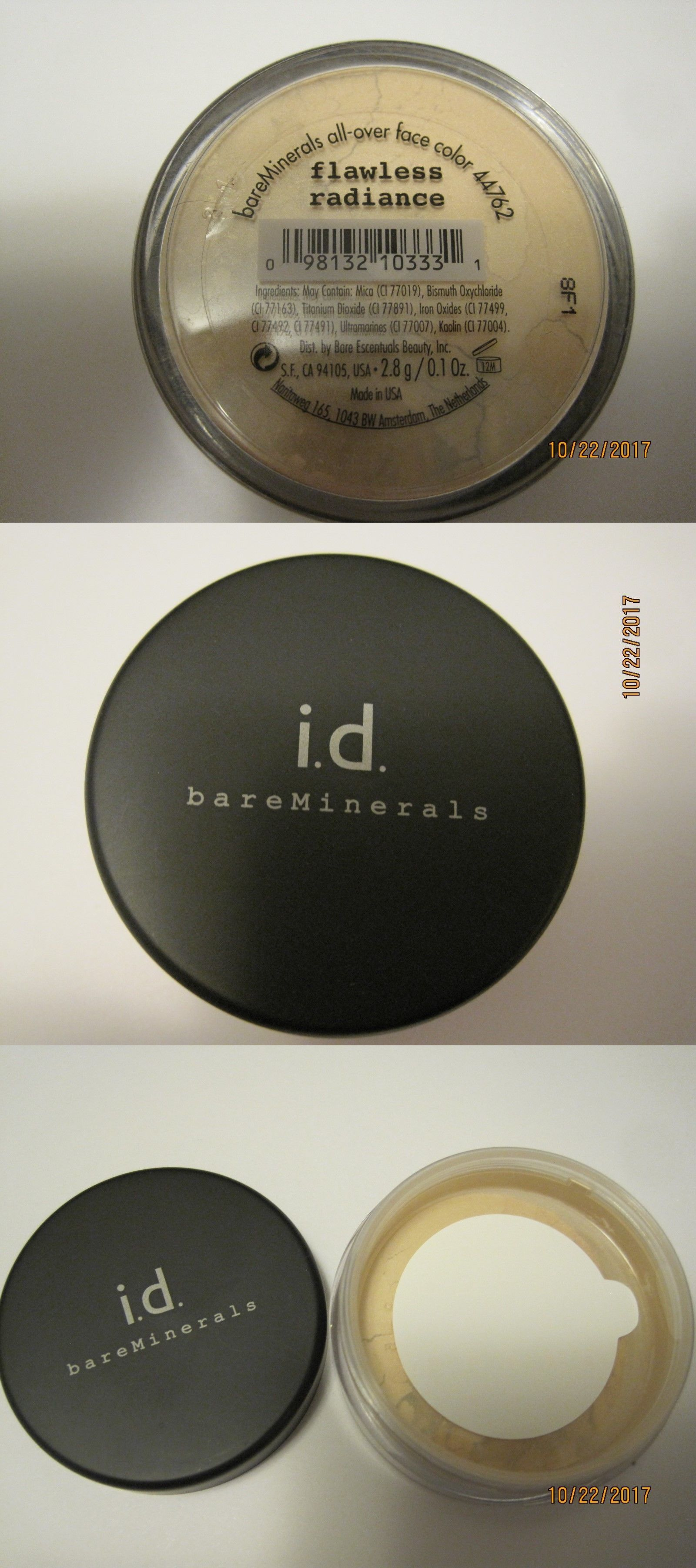 face powder bare escentuals bare minerals flawless radiance all