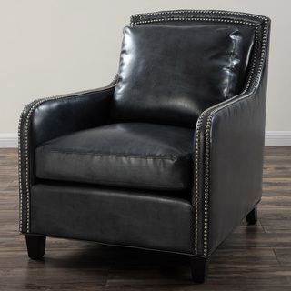 Amazing Greenwich Graphite Metallic Leather Club Chair More