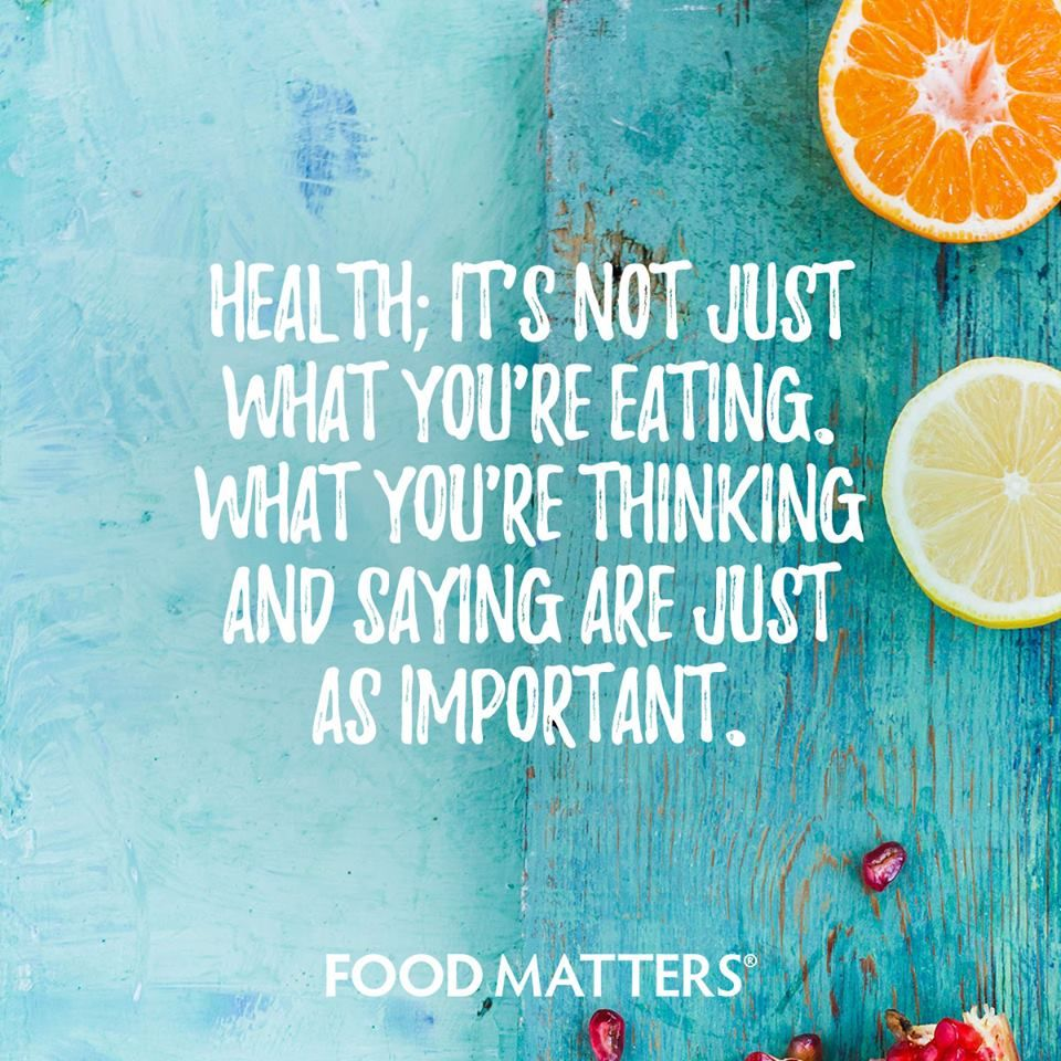 Wellness Quotes What Does Health Mean To You Www.foodmatters Foodmatters