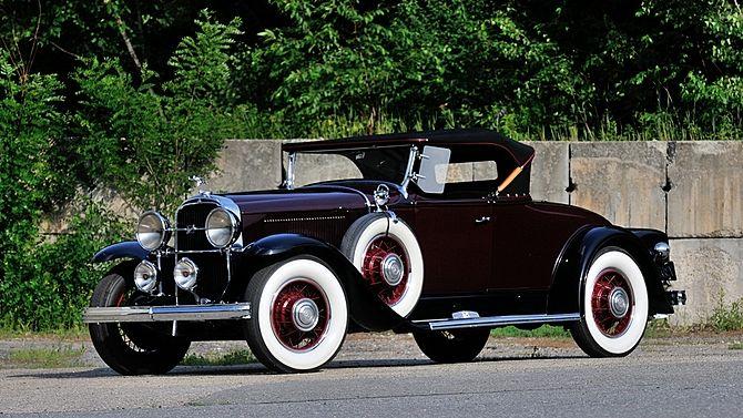 1931 Buick Series 90 Convertible.