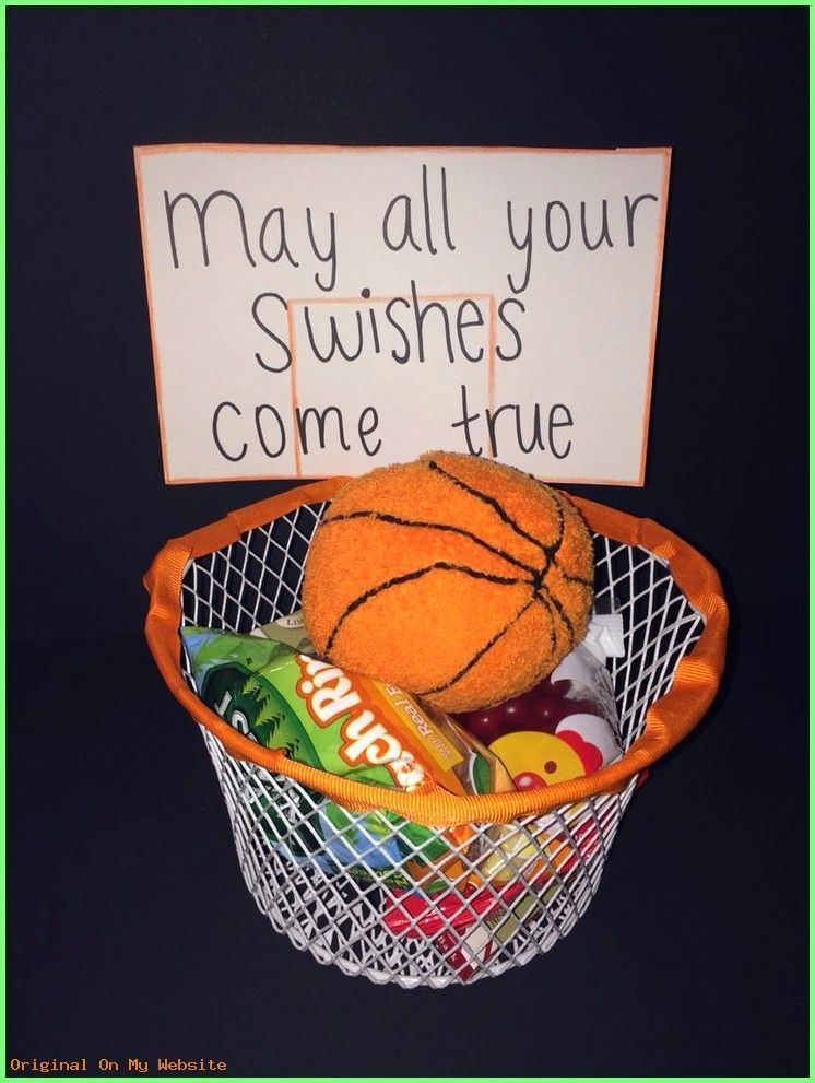 Boyfriend Gift - I made this gift basket for my boyfriends first basketball game of the seaso... #boyfriendgiftbasket Boyfriend Gift - I made this gift basket for my boyfriends first basketball game of the season. T...- #boyfriendgiftbasketball #boyfriendgiftboys #boyfriendgiftbudget #boyfriendgiftjustbecause #boyfriendgiftkids #cleverboyfriendgift #GiftsForhimjustbecause #boyfriendgiftbasket
