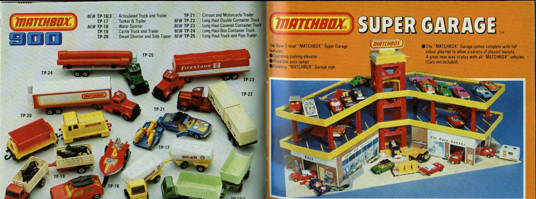 Matchbox Toys 1980 1981 Catalogue cars trucks Speedtrack