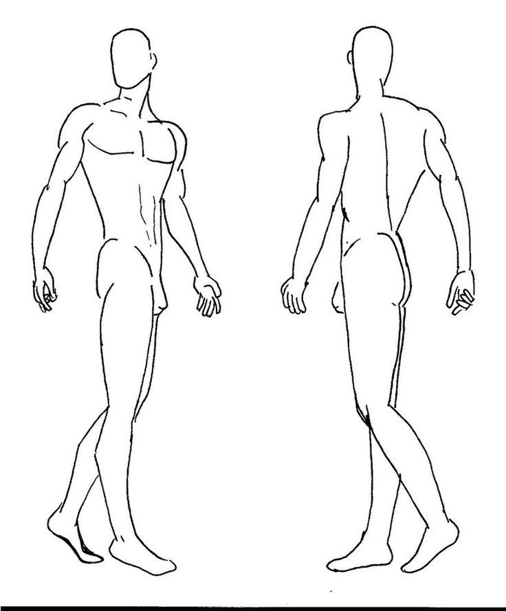 Fashion figure drawing figure technique trends for fashion designing templates male pronofoot35fo Gallery