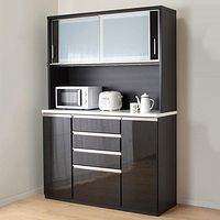 キッチンボード ポスティア 140kb Bk インテリア 家具 インテリア インテリア 通販