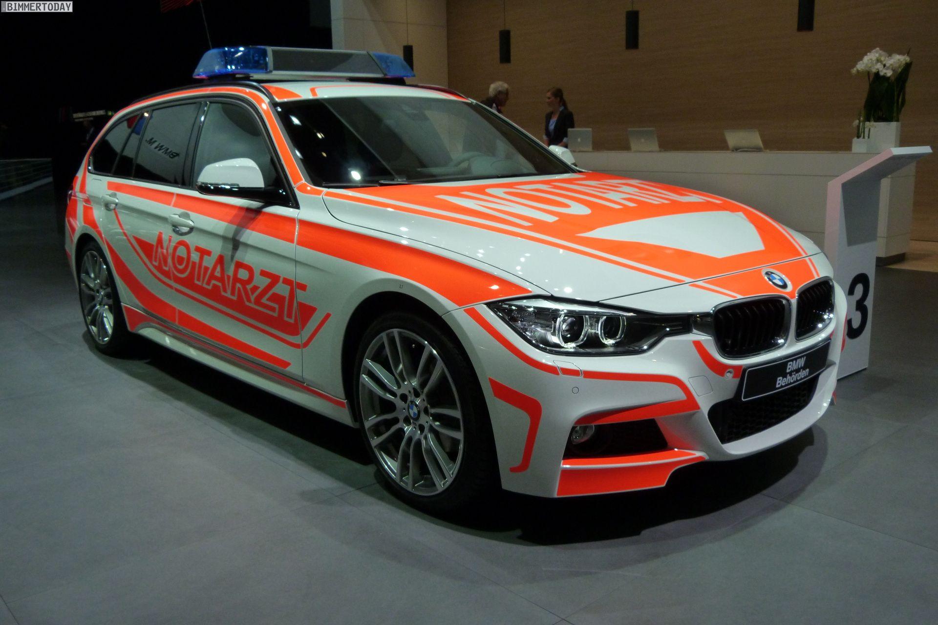BMW ConnectedRescue Navi Hilfe für Einsatzfahrzeuge