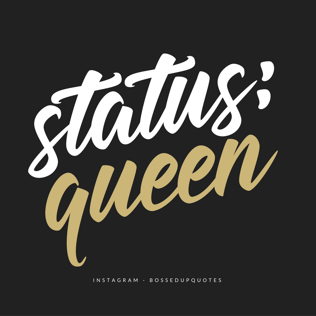 Status U003d QUEEN _ Hard Working Women _ Alpha Female _ Independent _ Strong  Women   WEAR Your CROWN