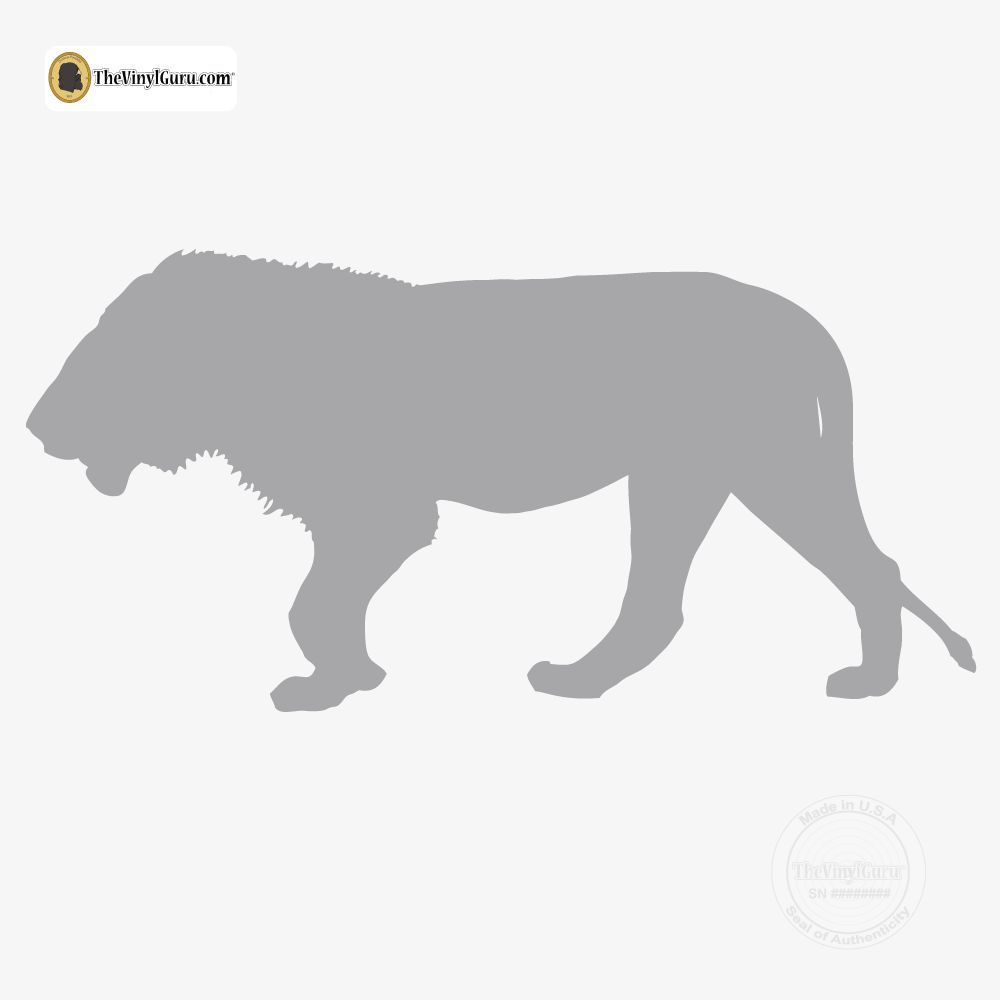 Lion Wall Decal Sticker Vinyl Art 7
