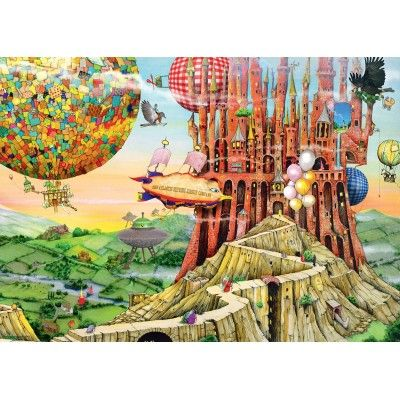 Puzzle Colin Thompson Flying Home 1000 Piece Jigsaw Puzzles