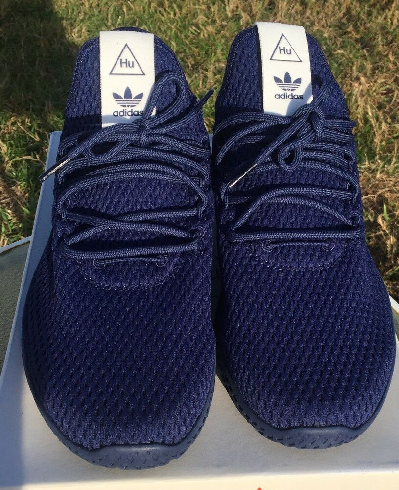 79082b183 Adidas Pharrell Williams PW Tennis Hu Dark Blue BY8719 Size 9.5  fashion   clothing  shoes  accessories  mensshoes  athleticshoes (ebay link)