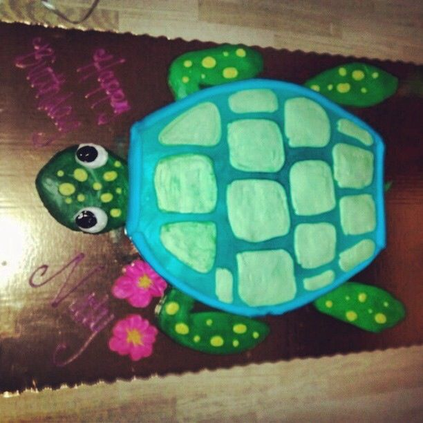 Sea Turtle cupcake Cake by Publix Caitlin Pinterest Sea turtle