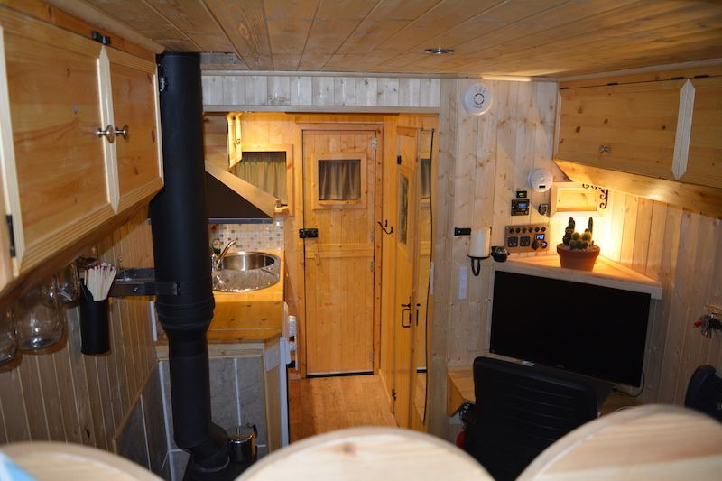 LDV Luton: Inside The Van | Van Life | Truck camper, Box van