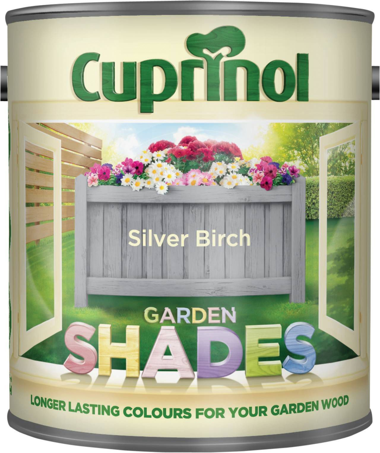 Cuprinol Garden Shades Matt Wood Paint - Silver Birch 1L | Pinterest