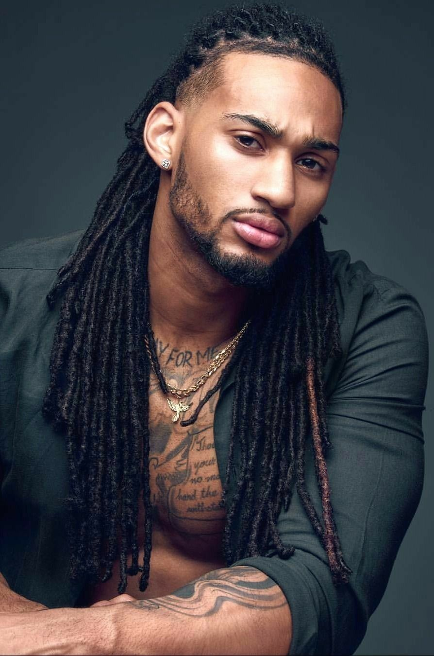 Curly black men haircuts i love his hair and face structure  mens hairstyles in