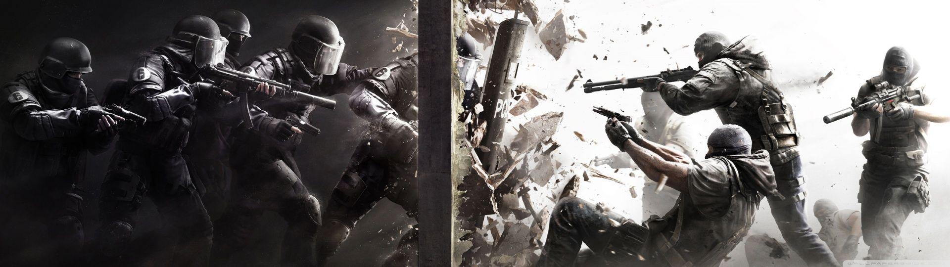Tom Clancys Rainbow Six Siege Hd Desktop Wallpaper High With