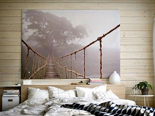 Ikea Large Wall Art 78 3 4 By 55 This Or Forest Canvas For