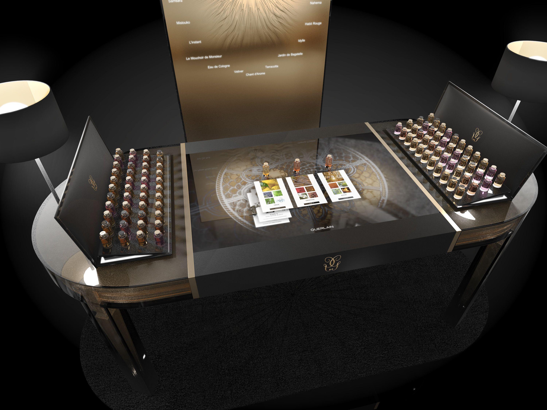 Http Www Agencemessieurs Com Portfolio Typewriter Boutique De Decoration Parfum Guerlain Parfum