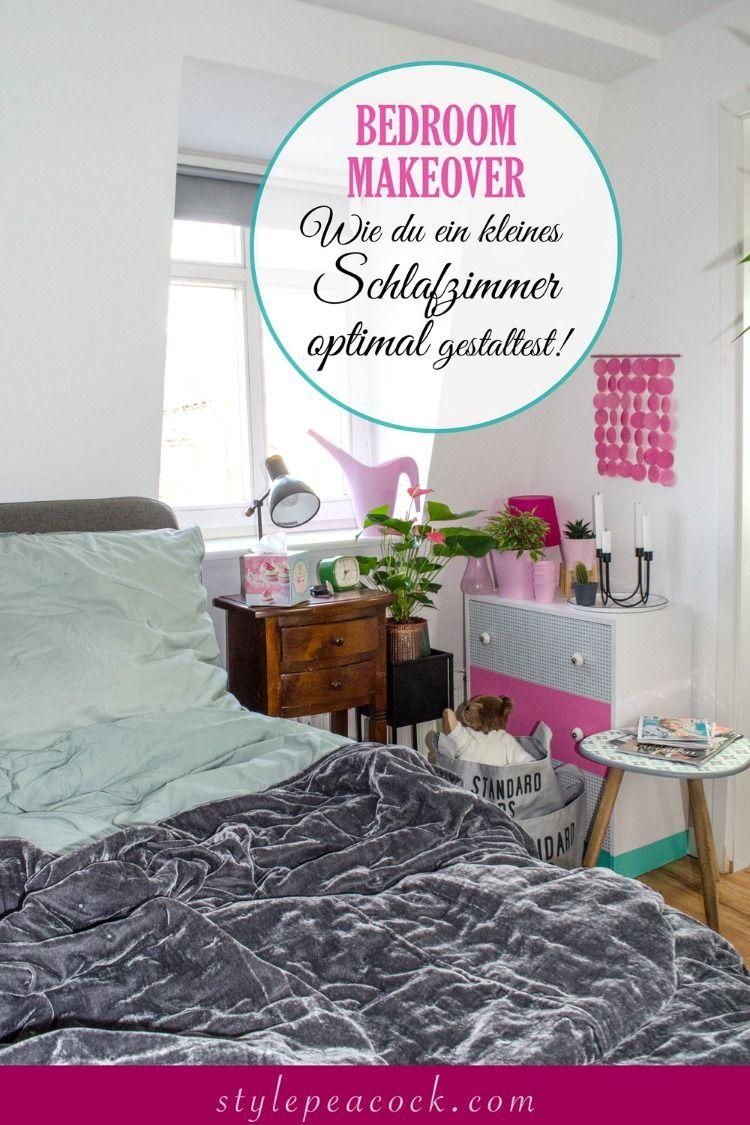 Bedroom Makeover Schlafzimmer Kleines Schlafzimmer Und Offene