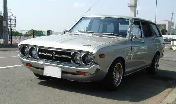 1976 Datsun 710 Wagon (mine had Dayton Wire Wheels) What